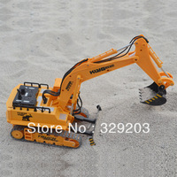 Electric wireless remote control excavator model remote control car charge toy excavator remote control engineering truck