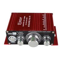 Hi-Fi Mini Audio Digital Power Amplifier for IPOD MP3 DVD MP4 Car 2 Channel