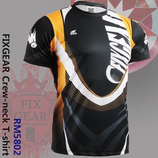 {No. RM-5802} FIXGEAR Tennis Golf T-Shirts Custom Design Printing Men's Sports Tee  Crew Neck Short T-shirts
