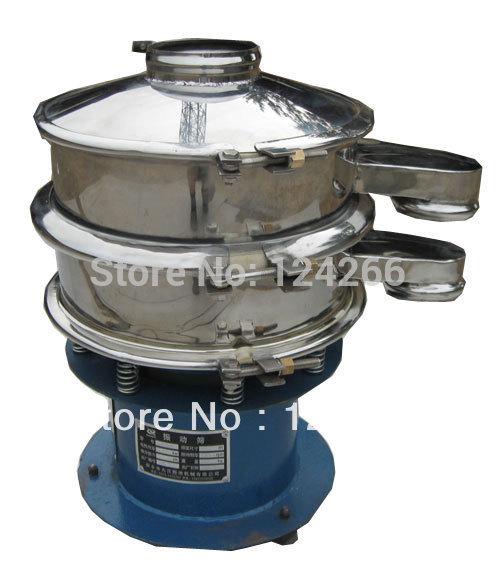High efficiency Rotary vibrating screen machine SH-400-1S 1 layer 400mm(China (Mainland))