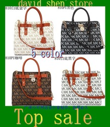 Free shipping 2013 brand designer handbags fashion for womens rivet tote bags 810(China (Mainland))