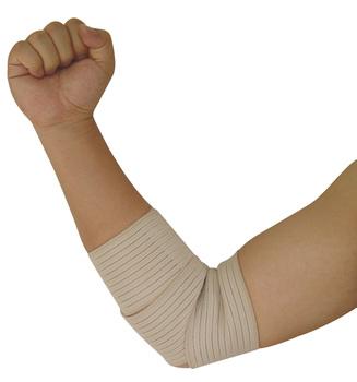 Football basketball tennis ball volleyball badminton elbow spirally-wound bandage sports