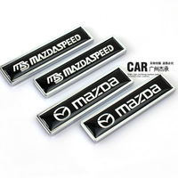 New arrive for Refires ms MAZDA horse 2 3 5 6 emblem 3d three-dimensional labeling