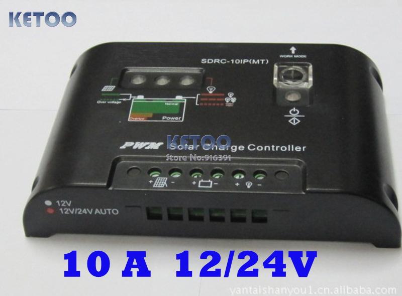 Солнечный контроллер Brand new 10A 12/24 Auto PWM , F0036-10
