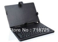 Fashion  Convenient 8 inch leather case with keyboard