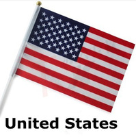 National Flag  United States 14*21 cm