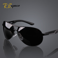 great quality and free gift,polarized sunglasses Men large driving mirror sun glasses with box