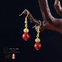 Handmade gold earrings original design 38 series
