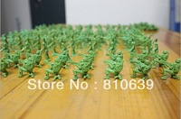 "200pcs/Lot 2-3CM 1:72  Mini Plastic Soldier Toys Green Army Men Figures ""8 Poses Sent At Random"" Free Shipping"