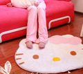 Free shipping 33*27 inch hello kitty carpet mats Bedroom carpet parlour floorcloth Cartoon floor Decoration Baby cushion(China (Mainland))