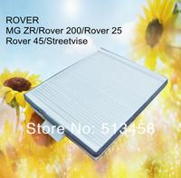 CU2520 low price wholesale white fiber car cabin air filter for Land Rover JKR100020 auto part 24.1*19.2*3.1cm WP6994