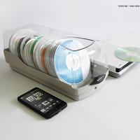 Actto 120 CD cdc-120 cd Storage Box Finishing Box CD Collection Box