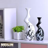 Modern brief fashion ceramic home decoration crafts decoration lovers vase