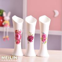 Jingdezhen ceramic small vase modern fashion home decoration crafts coffee table furnishings flower