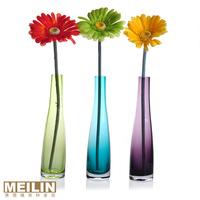New arrival fashion crystal glass vase modern vase set transparent vase