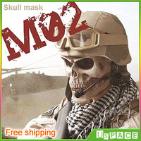 The Army Tactical skull mask, outdoor field death skull mask, Full Face Protect Safe Mask, free shipping