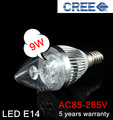 2pcs/lot cheap led light bulb  LED CREE E14 9W\12W Bubble Ball bulb manufacturer lamps and lighting non dimmable