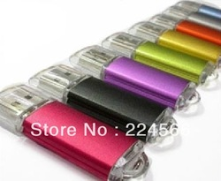 Wholesale Customized Logo USB Flash Drive Colourful Memory Flash/Pen/Thumb Drive 1GB 2GB 4GB 8GB 16GB 32GB Free Shipping(China (Mainland))