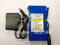 6800mAh DC 12V /5V Super Rechargeable Lithium-ion Battery Energy Storage Pack