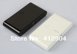 100% band new USB External Battery Pack 20000mAh Power Bank Charger -free shipping(China (Mainland))