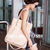 HOT new 2014 korea women messenger bags, fashion pure color design women handbag,shoulder  oblique satchel women bag wholesale