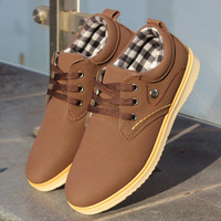Spring and summer skateboarding shoes male nubuck leather popular male shoes low-top shoes fashion male breathable single shoes
