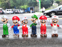 Super Mario Mario Mary Louis doll furnishing articles evade glue fair son much money 1 pcs Wholesale and retail free shipping