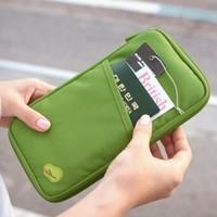 2014 New Wholesale!!Travelus multifunctional storage bag card holder wallet purse -free shipping
