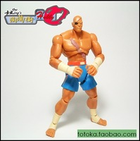 Hot sell cheap Sf05 action figure hand-done the cartoon model 4 karp jakks
