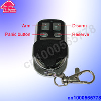 metal wireless remote control key fob for GSM011  free shipping