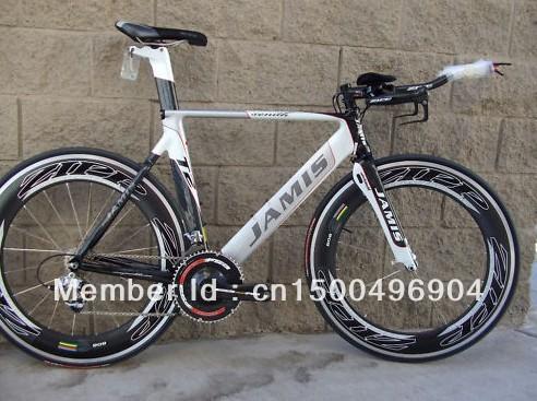 Jamis Xenith T2 2009 Tri bike 51cm, carbon zipp 808
