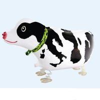 New styles !!! 10pcs/lots wholesales dairy cow walking pet balloon , helium balloon , 72X35cm