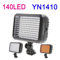New! YONGNUO YN1410 Pro 140 LED Video Light Photo Lighting for SLR DSLR Camera Camcorder 5500K/3200K ,Free Shipping(China (Mainland))