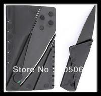 Free shipping 5pcs/lot Ian Sinclair CardSharp 2 Credit Card Folding Safety knife Black Plain edge