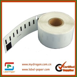 100 x rolls Dymo 99012 Labels Compatible Dymo 99012 Labels(China (Mainland))