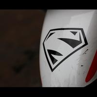 car stickers super man superman reflective stickers car stickers