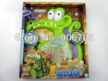 Free shipping Where s My Water Swampy Crocodile kid tablets English Indonesian Bilingual Learning Machine With