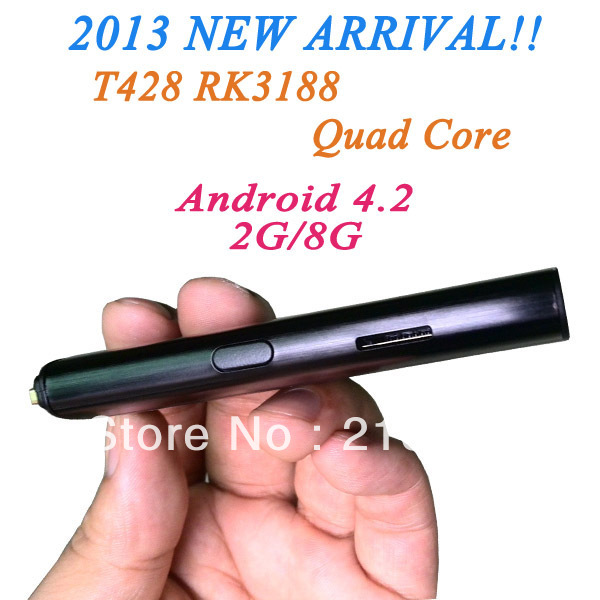 Amazing!!!The First Quad Core Mini PC Anroid 4.2 RK3188 Cortex A9 HDMI Dongle smart tv box internet With Free Shipping !!!(China (Mainland))