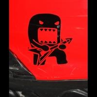 car stickers car decal guitar domo applique car cartoon reflective stickers motorcycle