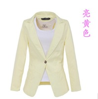 Hot-selling - - 4 colors body shaping gentlewomen blazer casual clothing women's jacket suit drop shipping to world