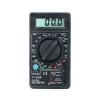 Free Shipping AC/DC Ammeter Voltmeter Electrical Tester Meter Professional Digital Multimeter