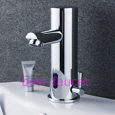 Water Saving Automatic Infared Sensor Bathroom Sink Bar Basin Faucet Mixer Tap(China (Mainland))