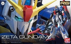 Bandai RG 10 MSZ-006 Zeta Gundam Z up with special code special spot(China (Mainland))