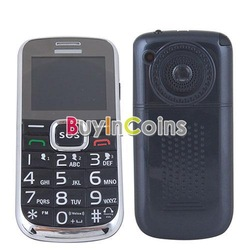 Old People Mobile Cell Phone SOS Button FM Radio Camera Dual Card Dual Standby [25354|01|01](China (Mainland))