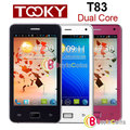 "4"" TOOKY T83 Android 4.0 Dual Core 1GHz Smartphone WIFI GPS 3G Mobile Phone [33007