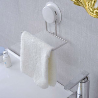 Free Shipping, New Arrive Stainless Steel Wall Suction Cup Bathroom Towel Hook,Paper Holder,Towel Bar