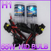 12V 55W Auto HID Headlights HID Xenon kit H1single beam HID CAR lamp HID KIT bulb color 4300K 5000K 6000K 8000K
