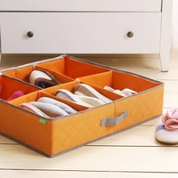 2013 new high quality Shoes box shoes storage box hard boots box bamboo 6 transparent shoes storage box 3 colors to choose