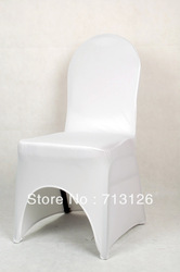hot sale free shipping white spandex lycra chair cover for weddings(China (Mainland))