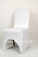 hot sale free shipping white spandex lycra chair cover for weddings